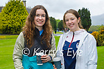 Enjoying a stroll in Muckross Gardens in Killarney on Sunday, l to r: Sadhbh Ní Chathasaigh and Siobhan Burns.