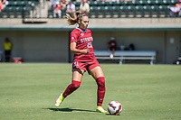 STANFORD, CA - SEPTEMBER 12: Paige Rubinstein during a game between Loyola Marymount University and Stanford University at Cagan Stadium on September 12, 2021 in Stanford, California.