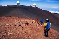 Hiking Mauna Kea on the Big islnad of Hawaii