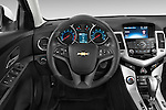 Car pictures of steering wheel view of a 2015 Chevrolet Cruze 4-Door Sedan 2LT Automatic 4 Door  Steering Wheel