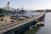 Rio de Janeiro (RJ), 04/04/2020 - Covid-19-Rio - Movimentacao reduzida na ponte Rio-Niteroi  na tarde deste sabado (04). (Foto: Andre Fabiano/Codigo 19/Codigo 19)