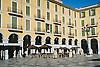 The main square Plaza Mayor in Palma de Mallorca<br /> <br /> Plaza Mayor en Palma de Mallorca<br /> <br /> Der Hauptplatz (Plaza Mayor) in Palma de Mallorca<br /> <br /> 1840 x 1232 px<br /> Original: 35 mm