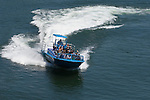 Jetboat ride with the Mail Boat tour company on the Rogue River; Gold Beach, Oregon Coast..#06061130