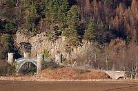 The Thomas Telford designed Craigellachie Bridge, Craigellachie, Moray