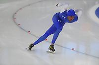 SCHAATSEN: BERLIJN: Sportforum Berlin, 06-12-2014, ISU World Cup, Shani Davis, ©foto Martin de Jong