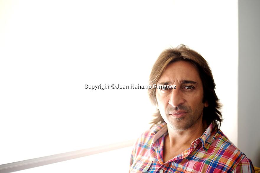 Antonio Carmona poses during a portrait session.