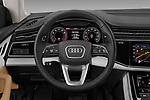 Car pictures of steering wheel view of a 2019 Audi Q8 - 5 Door SUV Steering Wheel
