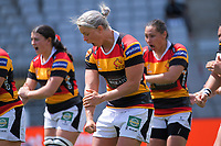during the Farah Palmer Cup women's rugby union match between Auckland Storm and Waikato at Eden Park in Auckland, New Zealand on Sunday, 18 October 2020. Photo: Dave Lintott / lintottphoto.co.nz