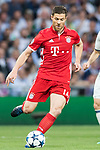 Xabi Alonso of FC Bayern Munich in action during their 2016-17 UEFA Champions League Quarter-finals second leg match between Real Madrid and FC Bayern Munich at the Estadio Santiago Bernabeu on 18 April 2017 in Madrid, Spain. Photo by Diego Gonzalez Souto / Power Sport Images