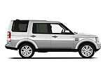 Passenger side profile view of a 2010 Land Rover LR4.