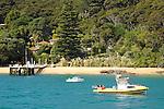 Vivian Bay, Beach homes with wharf