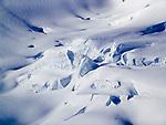 CHE, Schweiz, Kanton Bern, Berner Oberland, Grindelwald: Gletscherspalten im Grossen Aletschgletscher - UNESCO Weltnaturerbe | CHE, Switzerland, Bern Canton, Bernese Oberland, Grindelwald: crevasses at Great Aletsch Glacier - UNESCO World Natural Heritage