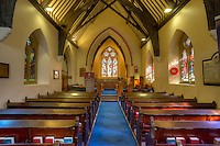 Inside of St. Augustine's Church. Church of Ireland (Anglican). Derry/Londonderry, Northern Ireland