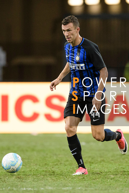 FC Internazionale Forward Ivan Perisic in action during the International Champions Cup match between FC Bayern and FC Internazionale at National Stadium on July 27, 2017 in Singapore. Photo by Weixiang Lim / Power Sport Images