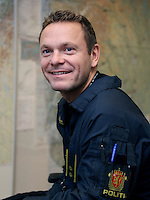 Norwegian Police Helicopter , system operator Knut Lien