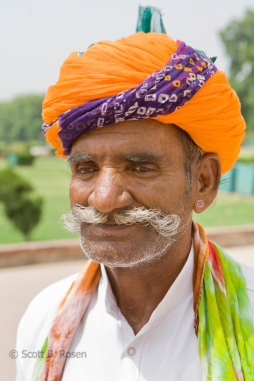 Punjabi man, Red Fort, Old Delhi