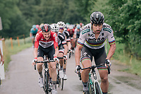 World Champion Peter Sagan (SVK/Bora-Hansgrohe) attacking on the last climb of the day (with Tim Wellens hanging on)<br /> <br /> Stage 3: Oberstammheim > Gansingen (182km)<br /> 82nd Tour de Suisse 2018 (2.UWT)