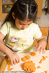 Preschool ages 3-5 art activity play dough girl playing with play dough vertical