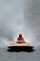 "Dave Bridgeman, A-711 ""Gemini"" (1979 2.5 Litre Mod class Lauterbach picklefork hydroplane)"