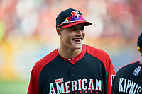 Baltimore Orioles Manny Machado during MLB All-Star Game Practice on July 13, 2015 at Great American Ball Park in Cincinnati, Ohio.  (Mike Janes/Four Seam Images)