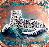 Sandi, REALISTIC ANIMALS, REALISTISCHE TIERE, ANIMALES REALISTICOS, paintings+++++coppersnowleopard,USSN28,#a#, EVERYDAY,Snow Leopard ,puzzles