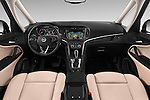 Stock photo of straight dashboard view of 2017 Opel Zafira Innovation 5 Door Mini MPV Dashboard