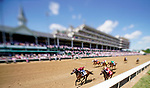 April 30, 2021 : Shedaresthedevil, #2, ridden by jockey Florent Geroux wins the La Troienne Stakes on Kentucky Oaks Day at Churchill Downs on April 30, 2021 in Louisville, Kentucky. Scott Serio/Eclipse Sportswire/CSM