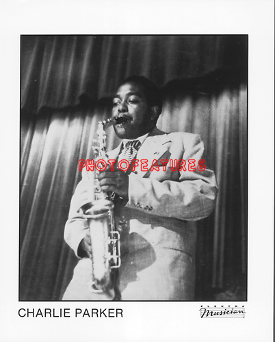 Charlie Parker..photo from promoarchive.com/ Photofeatures....