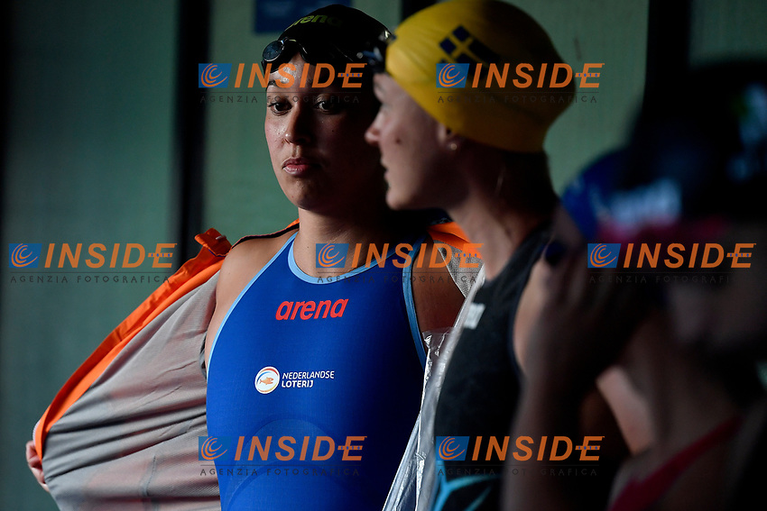 Ranomi Kromowidjojo of Netherlands prepares to compete in the women 50m butterfly during the 58th Sette Colli Trophy International Swimming Championships at Foro Italico in Rome, June 25th, 2021. Ranomi Kromowidjojo placed second. <br /> Photo Andrea Staccioli/Insidefoto/Deepbluemedia