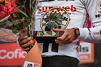 Marc Hirschi (SUI/Sunweb) wins the 84th La Flèche Wallonne 2020 (1.UWT)<br /> <br /> 1 day race from Herve to Mur de Huy (202km/BEL)<br /> <br /> ©kramon