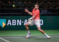 Rotterdam, The Netherlands, 11 Februari 2019, ABNAMRO World Tennis Tournament, Ahoy, first round doubles: Austin Krajicek (USA)<br /> Photo: www.tennisimages.com/Henk Koster