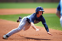 Tampa Bay Rays Blake Butera (82) during a minor league Spring Training game against the Boston Red Sox on March 23, 2016 at Charlotte Sports Park in Port Charlotte, Florida.  (Mike Janes/Four Seam Images)
