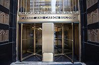 Usa Illinois, chicago, Carbide and Carbon Building