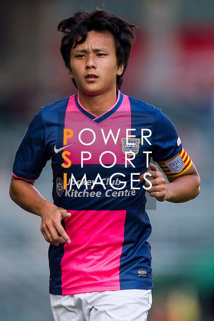 Kwan Yee Lo of Kitchee looks during the HKFA Premier League between South China Athletic Association vs Kitchee at the Hong Kong Stadium on 23 November 2014 in Hong Kong, China. Photo by Aitor Alcalde / Power Sport Images