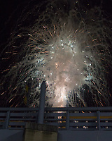 Heinz Field fireworks. The Pitt Panthers defeated the Marshall Thundering Herd 43-27 on October 1, 2016 at Heinz Field in Pittsburgh, Pennsylvania.