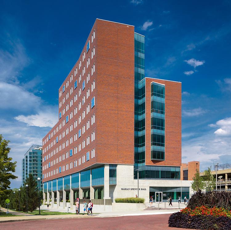 University of Cincinnati Marian Spencer Residence Hall   GBBN University of Cincinnati Marian Spencer Hall   GBBN