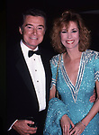 Regis Philbin and Kathie Lee Gifford  on May 1, 1988 in New York City.
