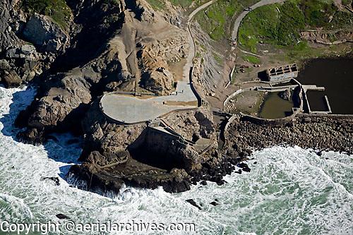 aerial photograph Sutro Baths San Francisco, California