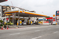 Gas Station, Sultan Idris Shah Street, Ipoh, Malaysia.