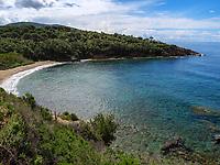 Spiaggia di Zuccale bei Capoliveri, Elba, Region Toskana, Provinz Livorno, Italien, Europa<br /> Beach Spiaggia di Zuccale near Capoliveri, Elba, Region Tuscany, Province Livorno, Italy, Europe