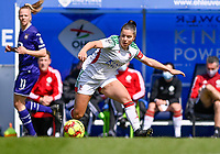 Luna Vanzeir (10) of OHL pictured during a female soccer game between Oud Heverlee Leuven and RSC Anderlecht on the 2nd matchday of play off 1 in the 2020 - 2021 season of Belgian Womens Super League , saturday 17 th of April 2021  in Heverlee , Belgium . PHOTO SPORTPIX.BE | SPP | DAVID CATRY
