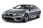 2016 BMW M6 Coupe - 3 Door Coupe Angular Front stock photos of front three quarter view