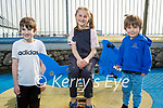 Enjoying the playground in Ballyheigue on Thursday, Tom and Jack Carroll with Rona Mustaffa