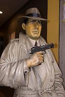 Spanien, Barcelona, Humphrey Bogart in der Carrer d'Arago