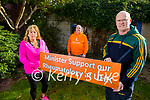 Ger Collins and Tom Barrett Chairman of the Kerry Branch of Arthritis Ireland highlighting the issues of the Rheumatology Dept in UHK on Saturday. L to r: Caroile Kennedy, Tom Barrett and Ger Collins.