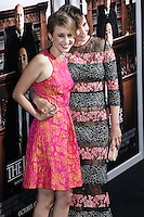 BEVERLY HILLS, CA, USA - OCTOBER 01: Taissa Farmiga, Vera Farmiga arrives at the Los Angeles Premiere Of Warner Bros. Pictures And Village Roadshow Pictures' 'The Judge' held at the Samuel Goldwyn Theatre at The Academy of Motion Picture Arts and Sciences on October 1, 2014 in Beverly Hills, California, United States. (Photo by Xavier Collin/Celebrity Monitor)
