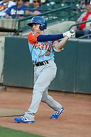 Nick Allen participates in the 2019 California League All-Star Game at San Manuel Stadium on June 18, 2019 in San Bernardino, California (Bill Mitchell)