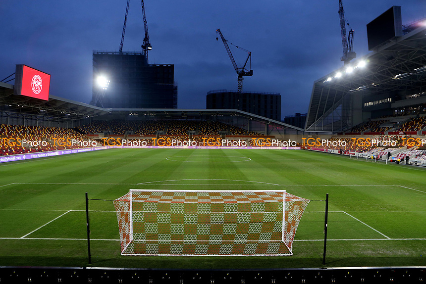 General view of Brentford FC during Brentford vs Newcastle United, Carabao Cup Football at the Brentford Community Stadium on 22nd December 2020