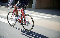 as defending champion Fabian Cancellara (SUI/TREK Factory Racing) was not able to defend his Ronde title, the #1 was for teammate (and also double Ronde winner) Stijn Devolder (BEL/Trek Factory Racing) to race<br /> <br /> 99th Ronde van Vlaanderen 2015