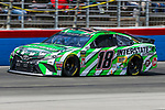 Monster Energy NASCAR Cup Series driver Kyle Busch (18) in action during the Monster Energy NASCAR Cup Series, O'Reilly Auto Parts 500, race at the Texas Motor Speedway in Fort Worth,Texas.